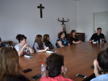 Каритас Русе проведе духовни упражнения за своите служители от социалните услуги