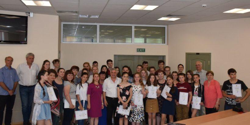 Групата от ученици и педагози от Тараклийски регион завърши обучението в Русенския университет