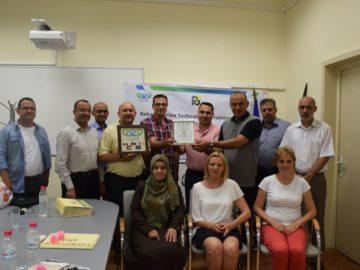 Преподаватели от Палестина бяха на обучение в Русенския университет
