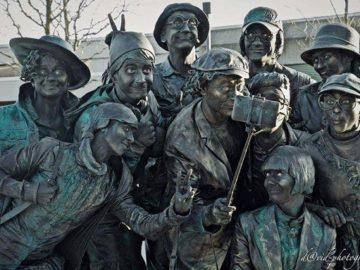За първи път в България артисти от 4 държави представят Living Statues Project