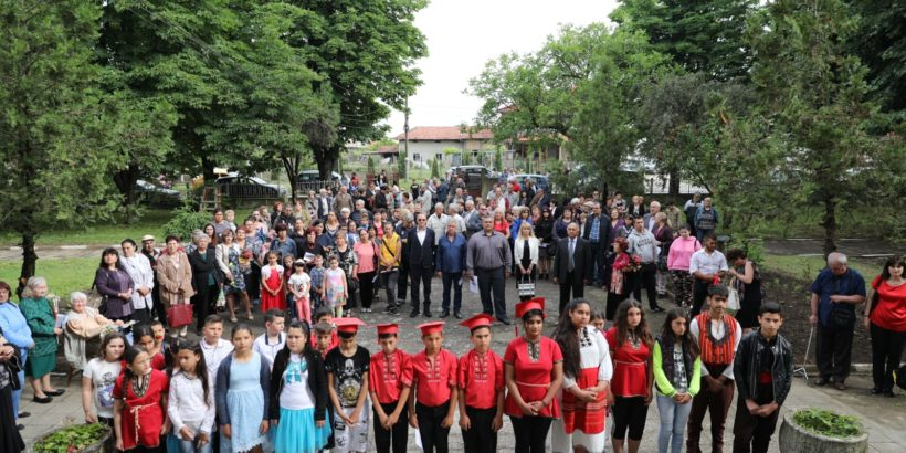 Народният представител Пламен Нунев поздрави жителите на Горно Абланово по повод 150 години от основаването на местното училище