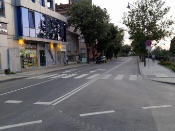 """Пътни полицаи въведоха ред в движението на бул. """"Придунавски"""" и съседните улици днес"""