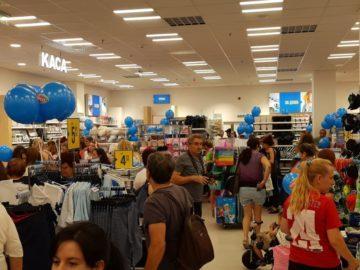 Клиентско нашествие в новия магазин на Pepco в Мол Русе