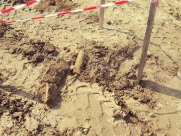 Снаряд от Втората световна война наложи намесата на гюргевските спасители