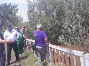 Областният управител посети Караманово, за да види наводнението там
