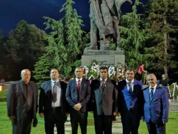 Областният управител участва в честванията, посветени на 143-та годишнина от подвига на Христо Ботев