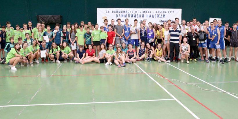 Добро русенско представяне на на Олимпийския фестивал на БОК в Албена
