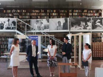 """Днес бе открита изложбата """"DANUrB – Дунавски Градски Бранд""""."""