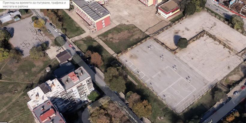 гугъл двор училище васил левски