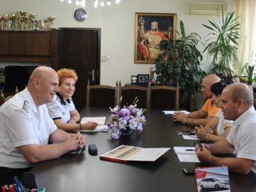 Новият командир на ВМС посети Русе днес