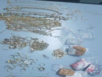 900 грама златни бижута задържаха днес на Дунав мост 1