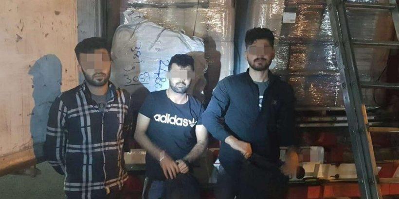 Трима иракски мигранти са заловени на Дунав мост 1