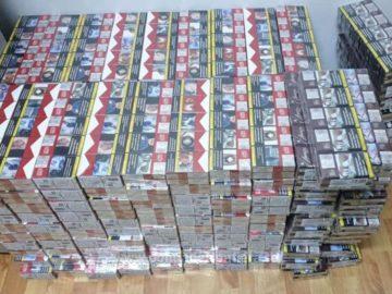 2040 кутии контрабандни цигари задържаха на Дунав мост 1