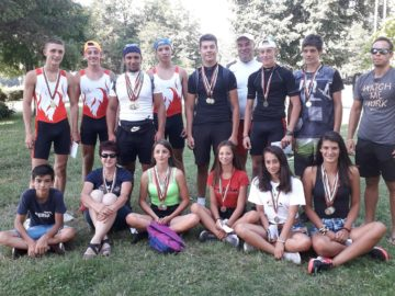 20 медала за кануистите на Локо - Русе от държавното в Пловдив