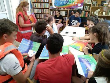 Учебно - тренировъчно занятие за действия при наводнения се състоя край Пиргово