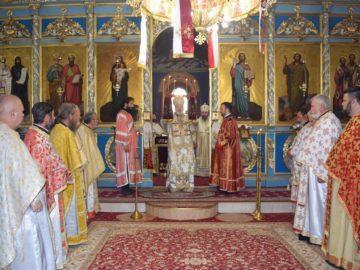 Русенският митрополит Наум посети Силистра по повод честването на празника на доростолските мъченици