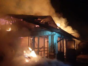 Ферма изгоря в гюргевско село