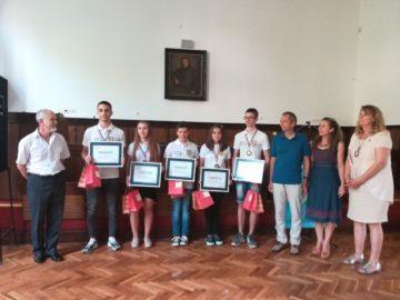 КРИБ - Русе награди млади таланти в математиката