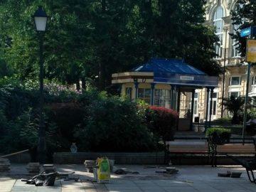 Ремонтират централния площад в Русе