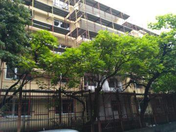 Продължава ремонтът на общежитието на Спортното училище в Русе