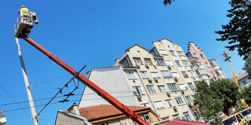 Обновяването на уличното осветление в Русе започна