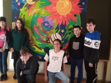 Успешна реализация на проект по Еразъм+ за учениците от прогимназиален етап в СУЕЕ
