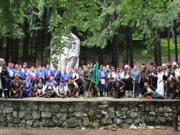 Родолюбци от Русенска област почетоха подвига на Хаджи Димитър и Стефан Караджа