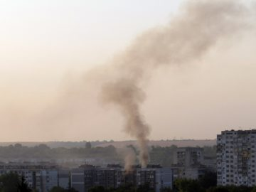 пожар апартамент руй планина