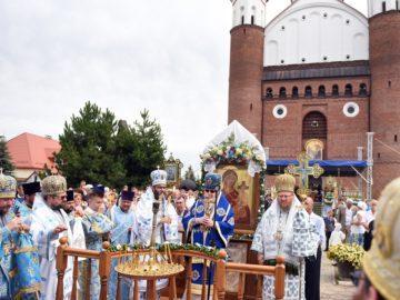 Полският митрополит Сава съслужи с русенския Наум в Супрасълския манастир