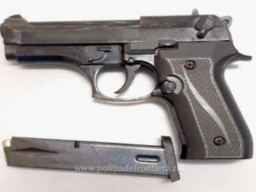 Газов пистолет е задържан на Дунав мост 1