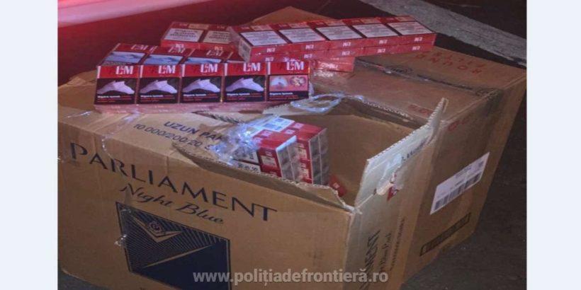 800 кутии цигари без бандерол са задържани на Дунав мост 1