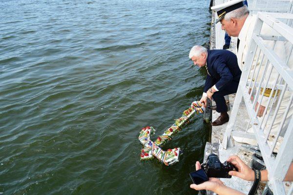 Денят на ВМС бе честван вчера в Гюргево