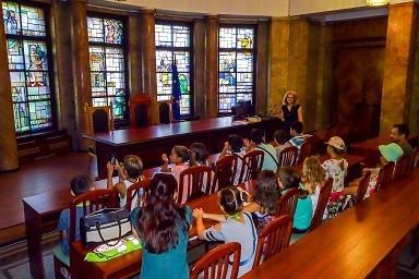 И през лятната ваканция ученици посещават Окръжен съд – Русе