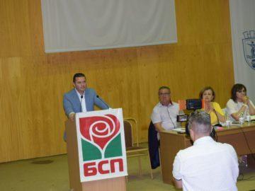 Общинската конференция на БСП – Русе утвърди с пълно мнозинство кандидатурата на Пенчо Милков за кмет на Русе