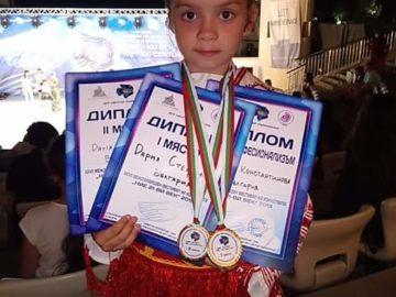 """Дария Стефанова стана любимка на публиката на фестивала """"Ние - XXI век"""""""