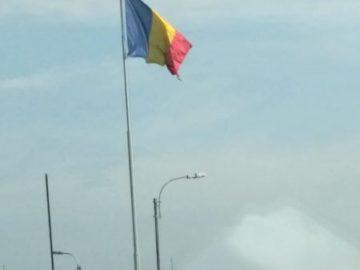 Общината ще смени скъсаното румънско знаме на ГКПП - Гюргево