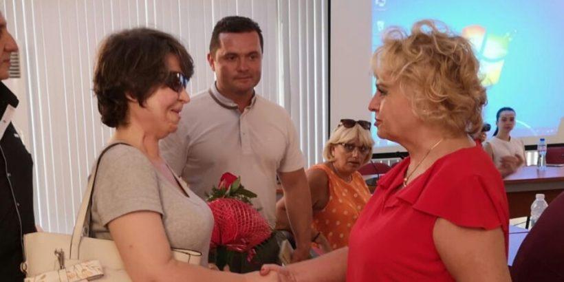 Костадинка Кунева в Русе: Гражданите трябва да се борят за правата си, да ги изграждат и да ги отстояват