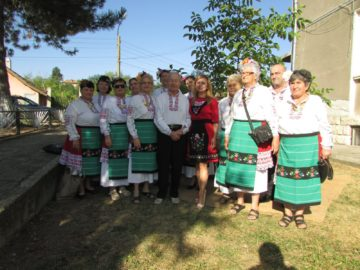 Народният представител Светлана Ангелова участва в Празника на плодородието в Чилнов