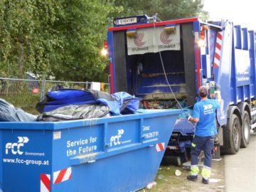 fcc контейнер отпадъци