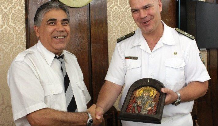 Трима военнослужещи са наградени в Русе по повод 140 години на ВМС