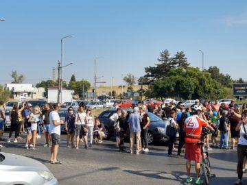 Протест за чист въздух ще блокира района пред Дунав мост 1 след малко