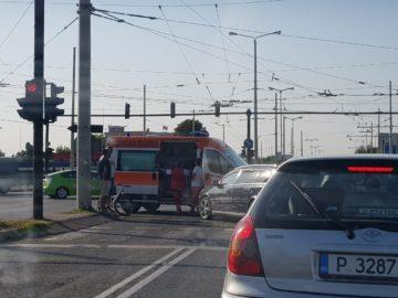 Автомобил удари велосипедист на русенско кръстовище тази вечер