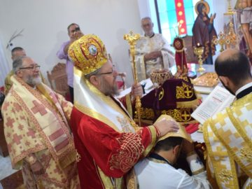 "Свещеническо ръкоположение в храма ""Всех Святих"""
