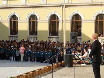 """Кметът на Община Русе присъства на откриването на новата учебна година в СУ """"Христо Ботев"""""""