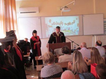 Откриване на учебната 2019/20 учебна година във филиала на русенския университет в град Разград