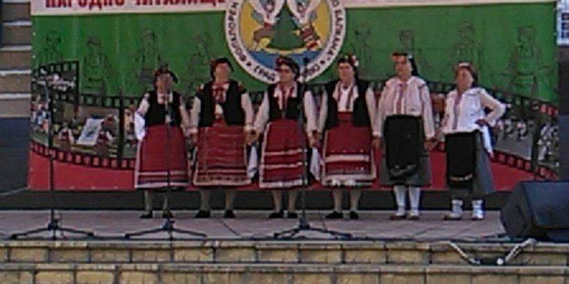 """Много добро представяне на КПИ """"Здравец"""" - Тръстеник на фестивала в Борово"""