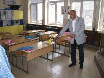 Кметът на Община Сливо поле инспектира готовността на училищата за първия учебен ден