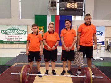 Трима щангисти от ТСК – Русе се включиха в турнир в памет на Величко Чолаков