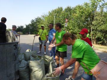 """На територията на РИОСВ-Русе са депонирани 333,24 тона отпадъци в рамките на кампанията """"Да изчистим България заедно"""""""