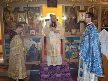 Русенският митрополит Наум отслужи литургия в Кацелово